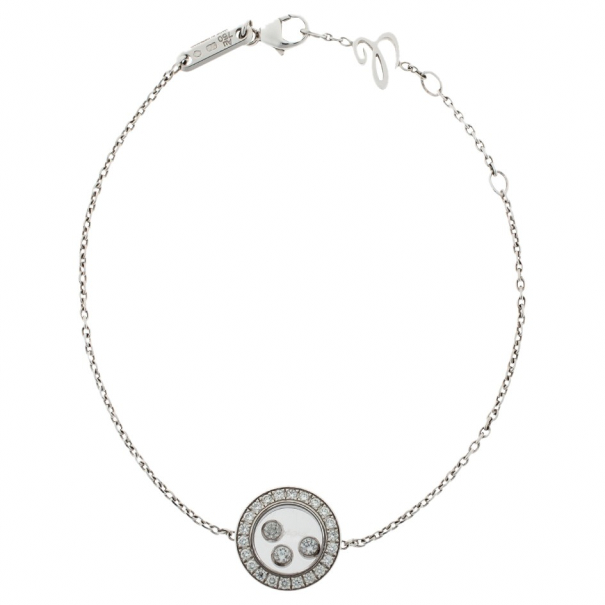 Chopard Happy Diamonds Armband in  Silber Weissgold