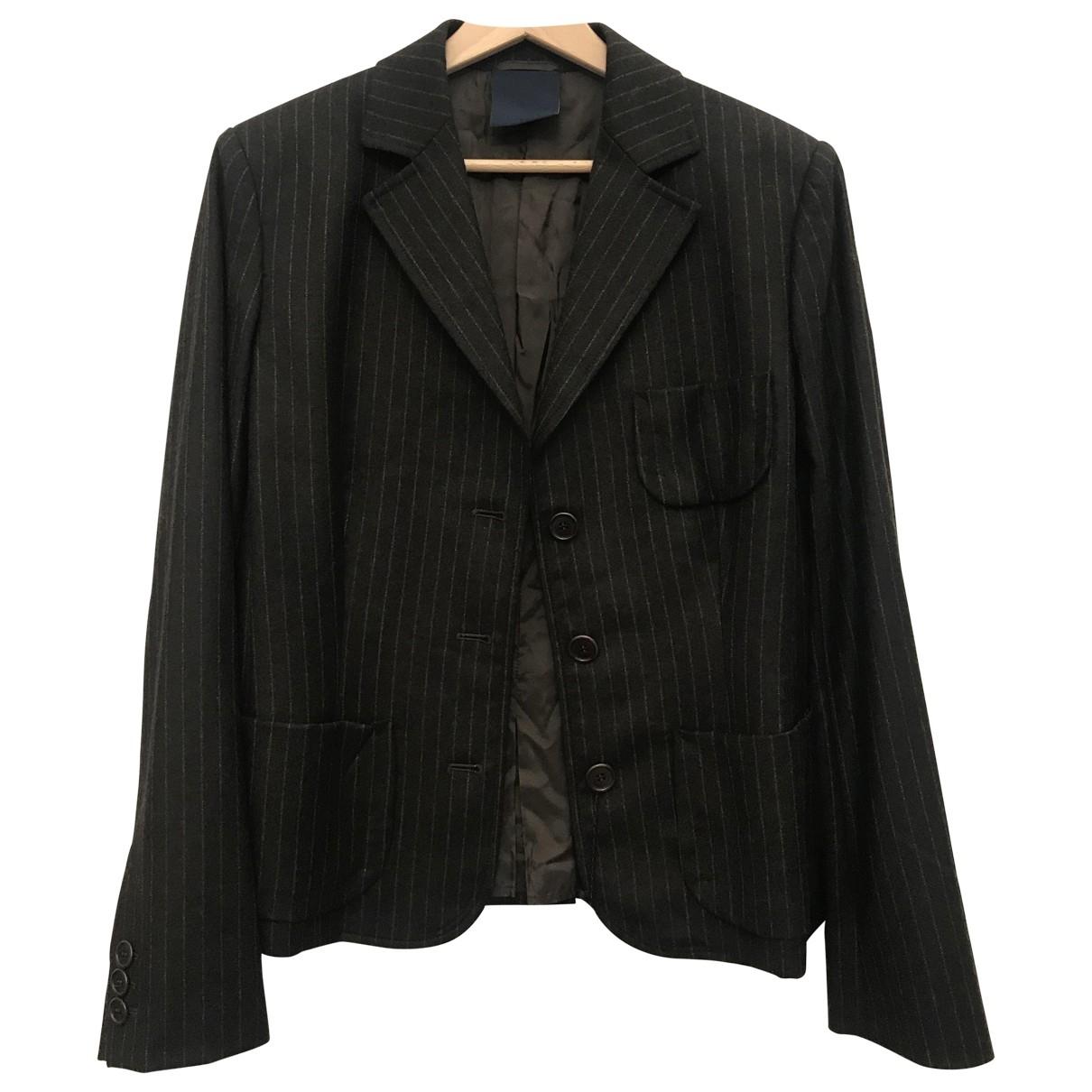 Aspesi \N Kleid in  Braun Wolle