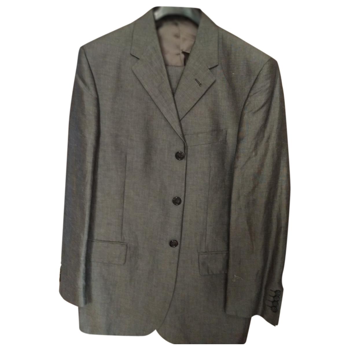 Corneliani - Costumes   pour homme en lin - gris