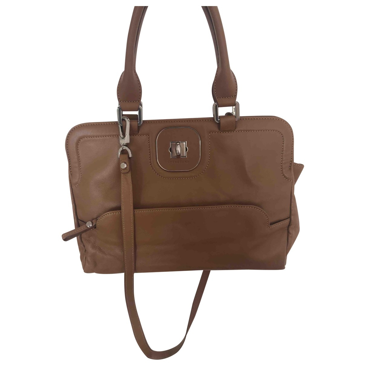 Longchamp Gatsby Camel Leather handbag for Women \N
