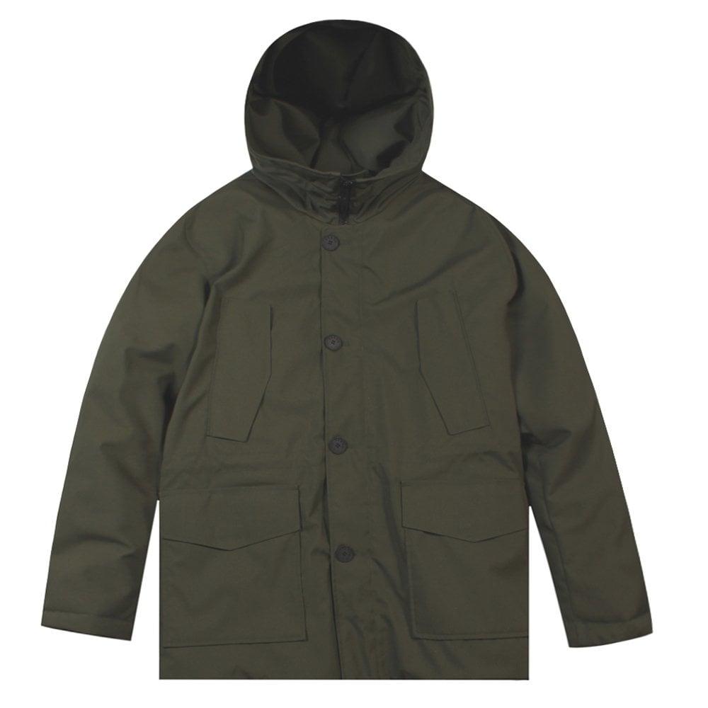 Kenzo Trans-seasonal Parka Jacket Colour: GREY, Size: LARGE