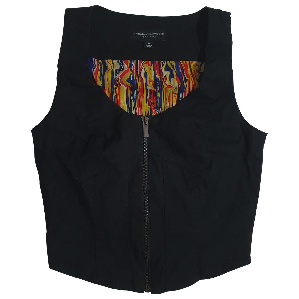 Jonathan Saunders - Veste   pour femme en coton - noir