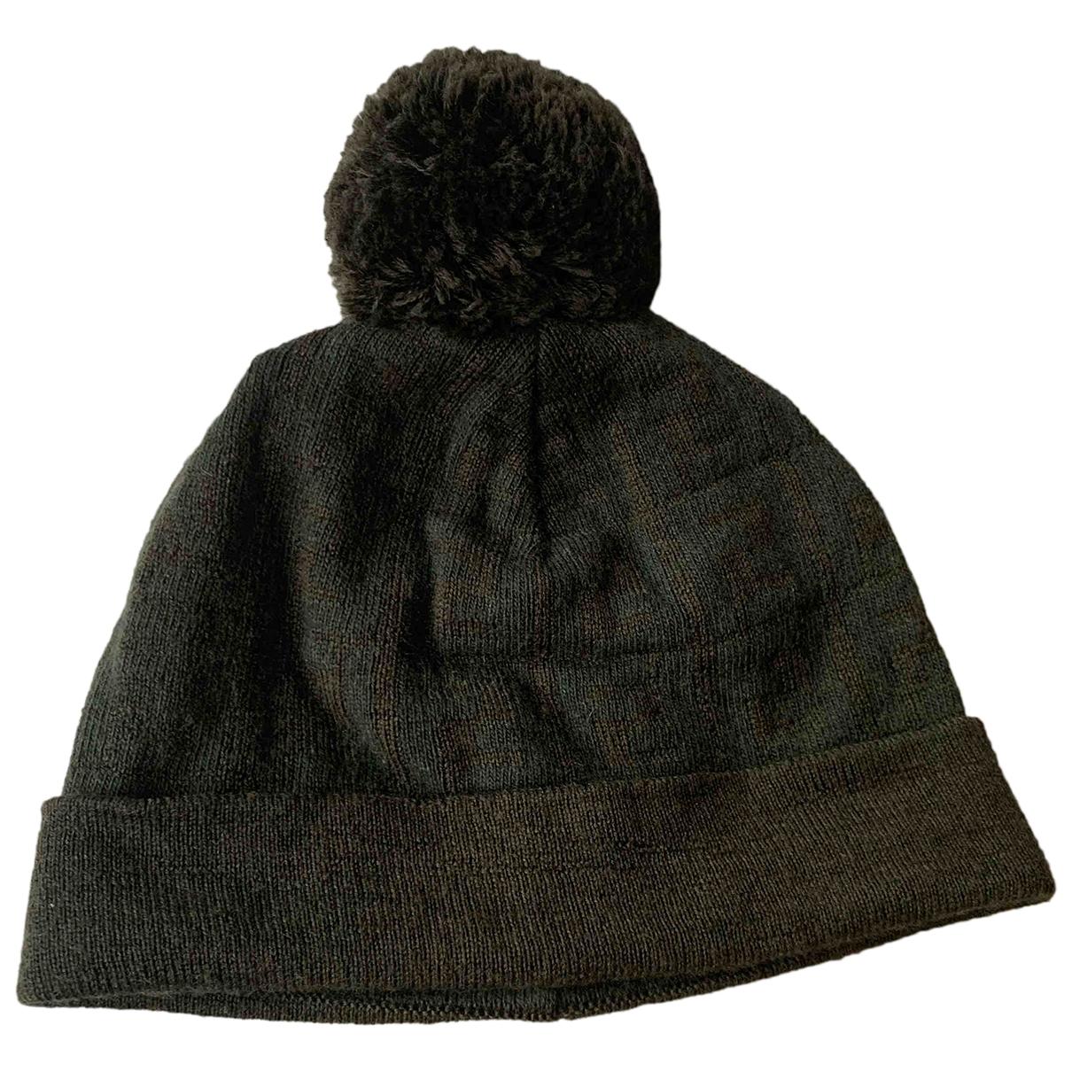 Fendi - Chapeau & Bonnets   pour homme en laine - kaki