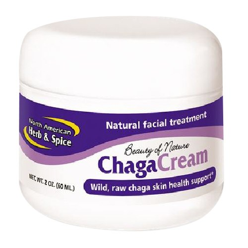 Chaga Cream Facial Treatment 2 oz by North American Herb & Spice
