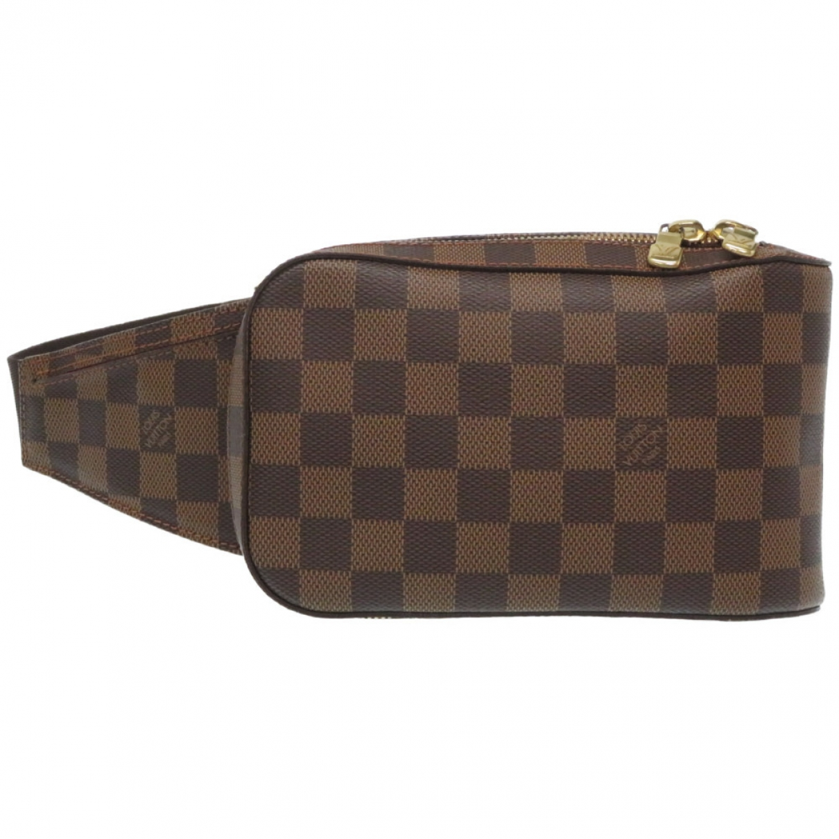 Louis Vuitton Geronimo Brown Cloth Clutch bag for Women \N