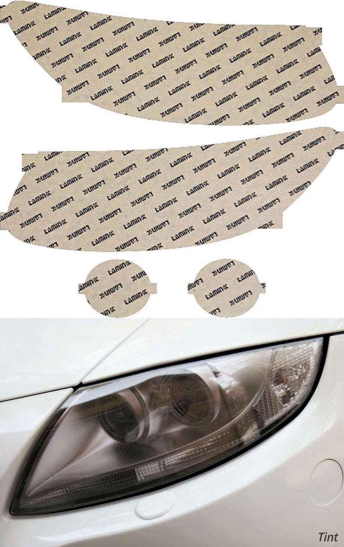 Hyundai Santa Fe 10-12 Tint Headlight Covers Lamin-X HY014T