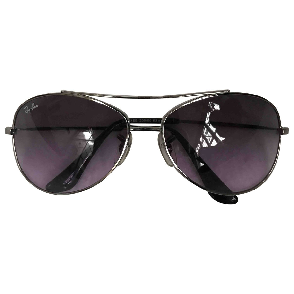 Ray-ban \N Silver Metal Sunglasses for Kids \N