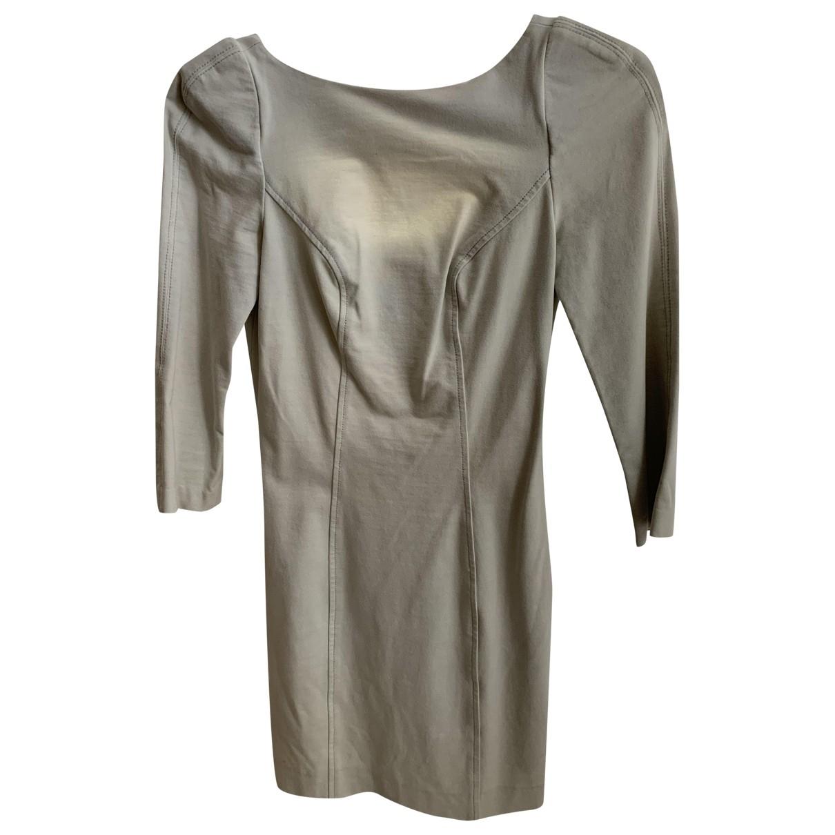 Diane Von Furstenberg \N Kleid in  Blau Baumwolle - Elasthan