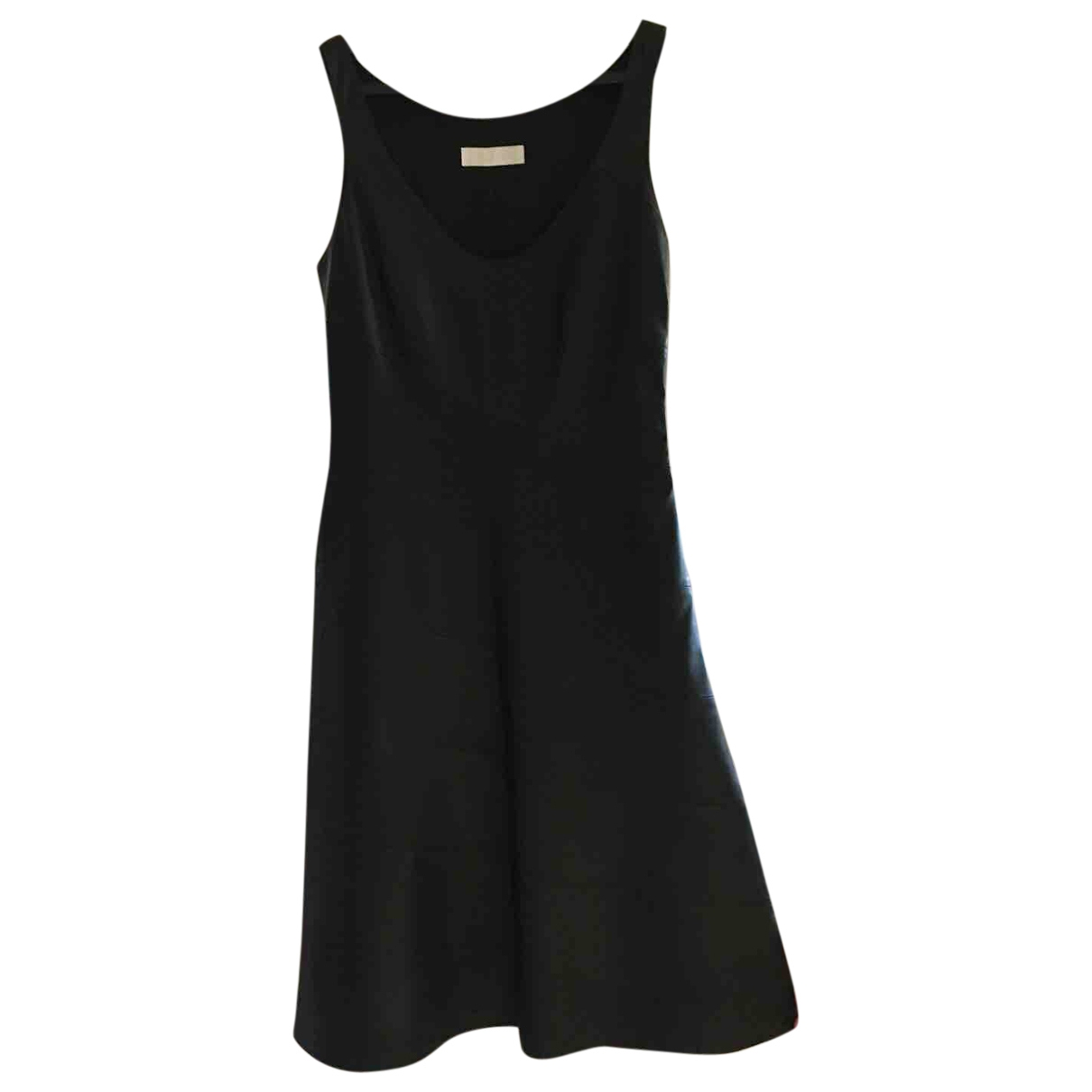 Nicole Farhi \N Black Leather dress for Women 8 UK