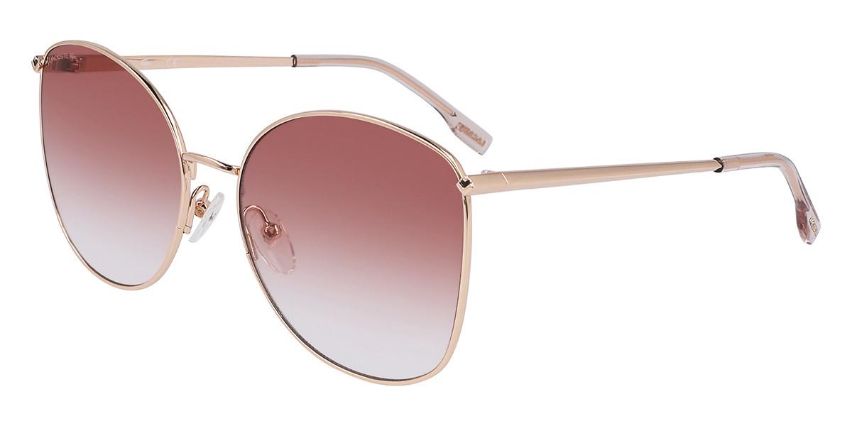 Lacoste L224S 757 Women's Sunglasses Gold Size 59