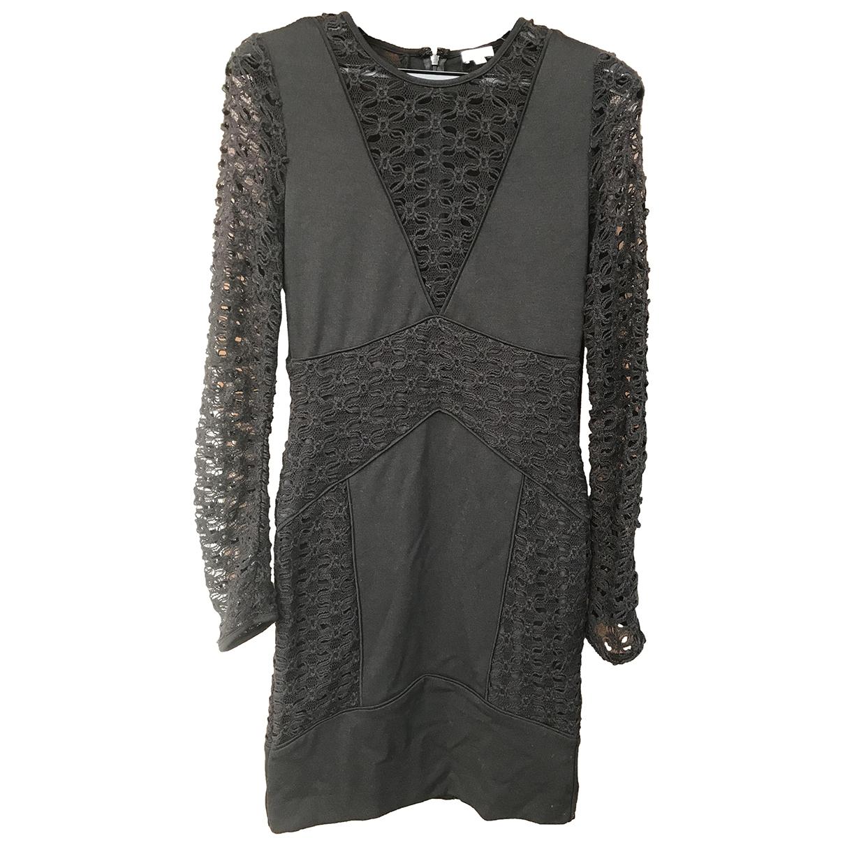 Hoss Intropia \N Black Cotton dress for Women XS International