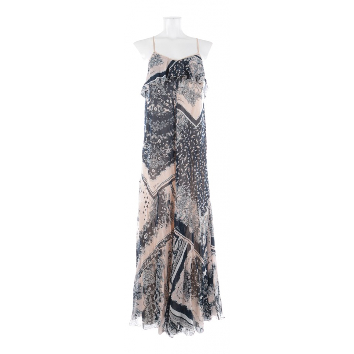 Just Cavalli \N Kleid in  Bunt Baumwolle