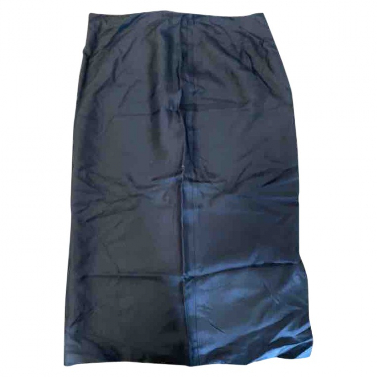 Prada \N Black Silk skirt for Women 40 IT