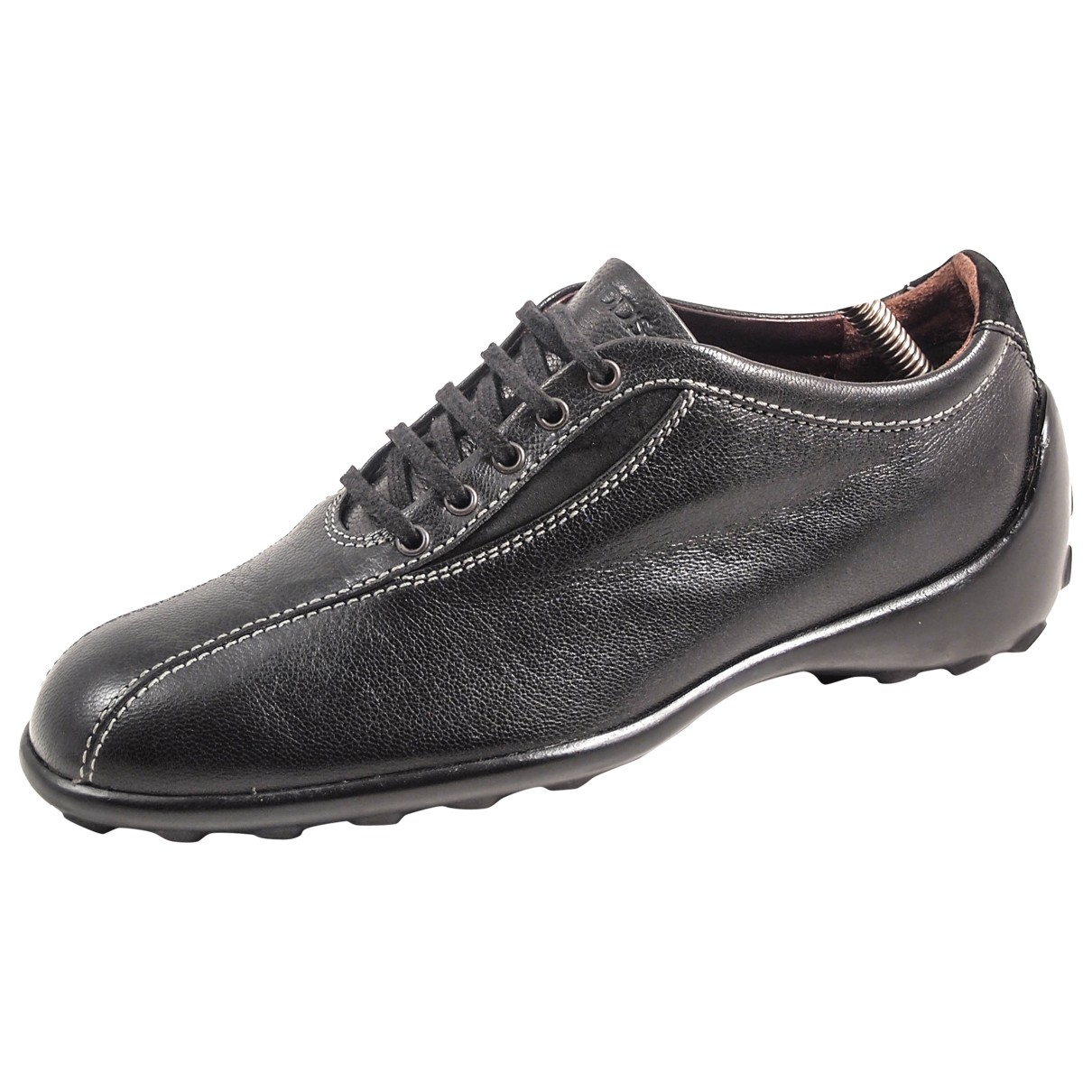 Tod's \N Black Leather Trainers for Women 36 EU