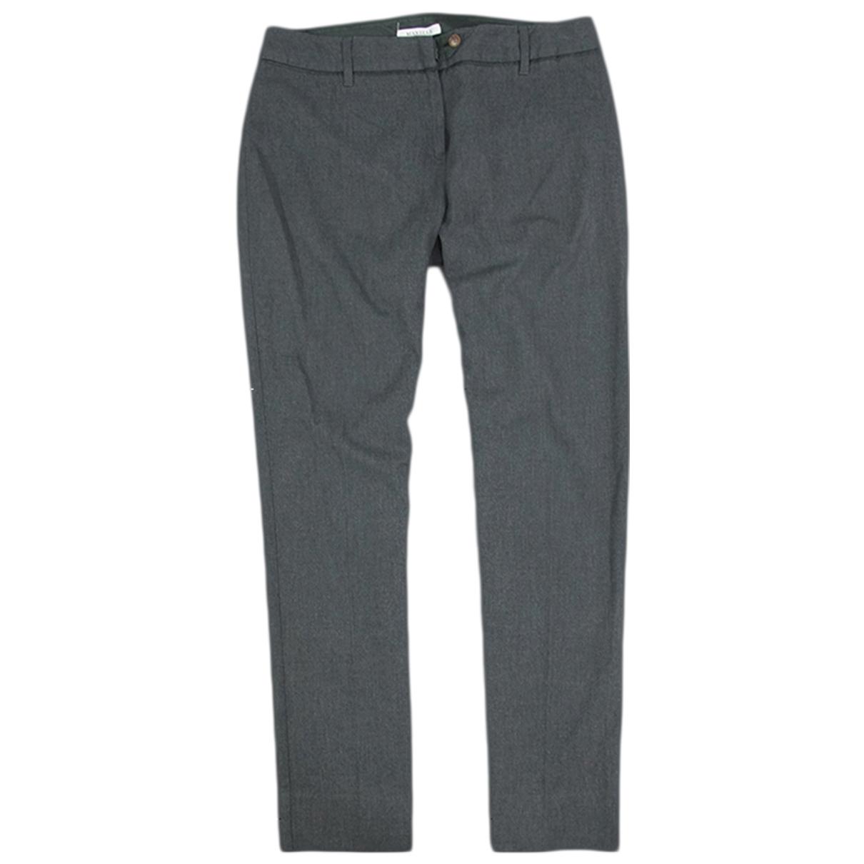 Marella \N Grey Trousers for Women L International