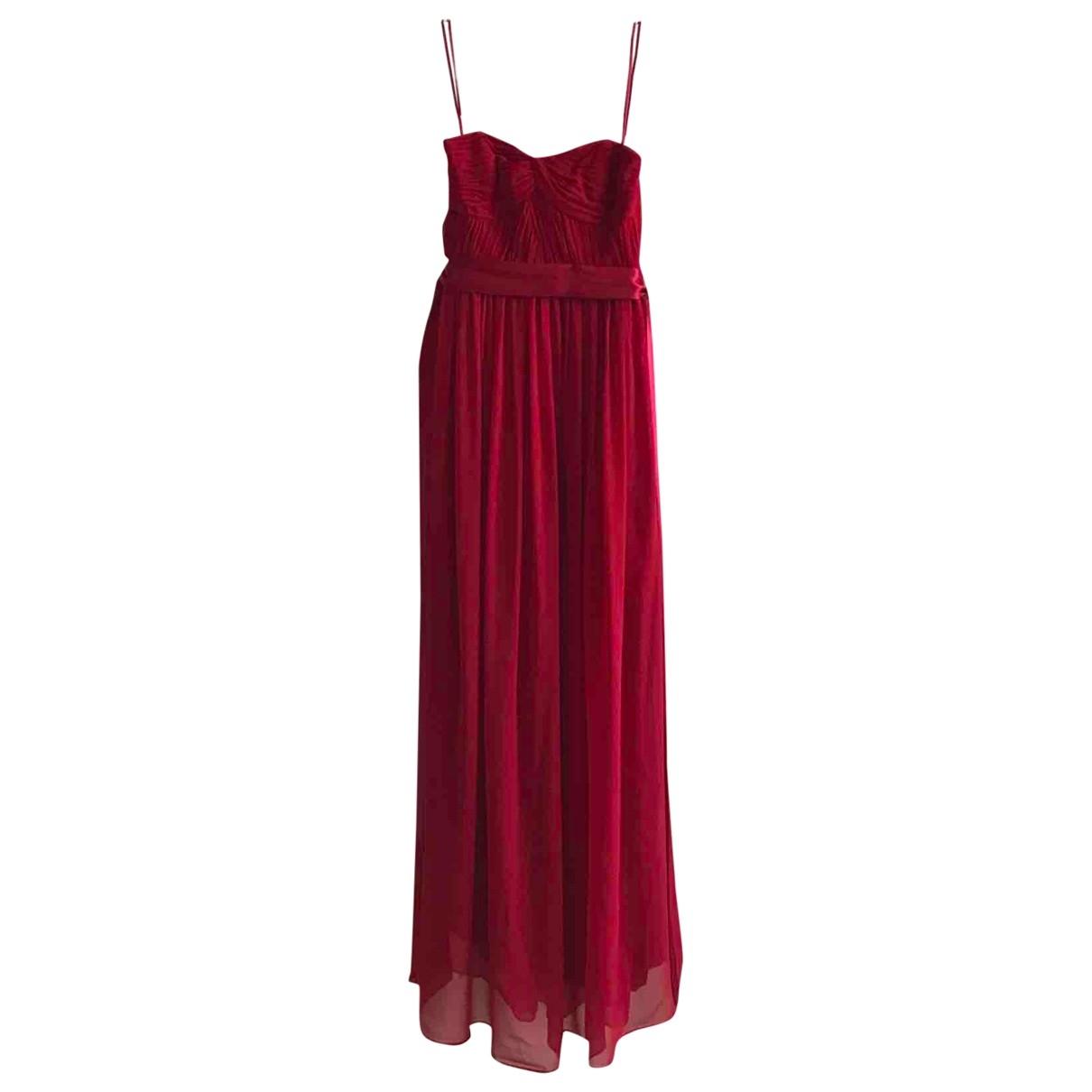 Coast \N Kleid in  Rot Seide