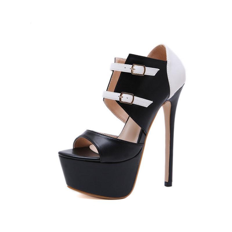 Ericdress Open Toe Stiletto Heel Low-Cut Upper Sandals