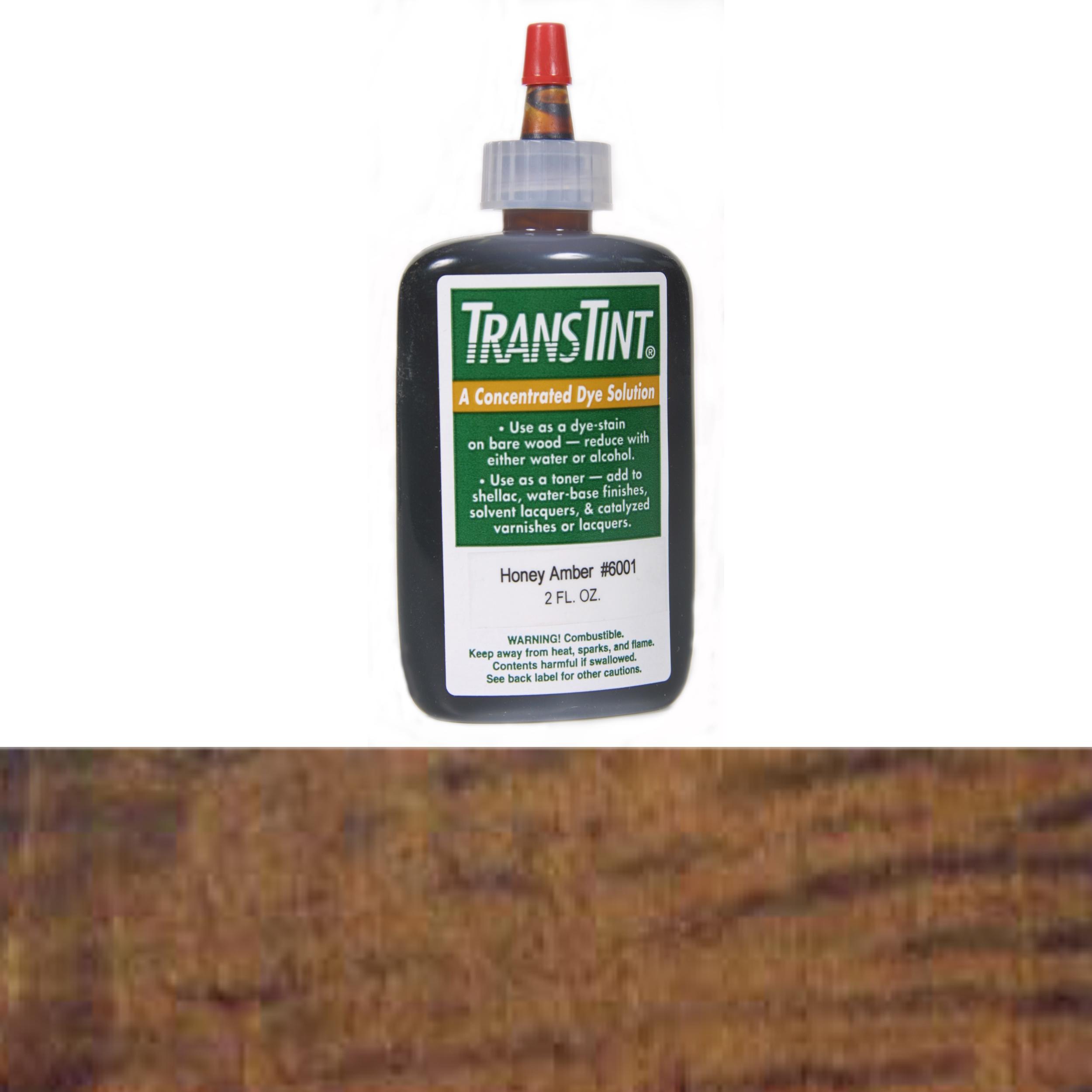 Dark Mission Brown Transtint Alcohol/Water Soluble Dye 1 oz