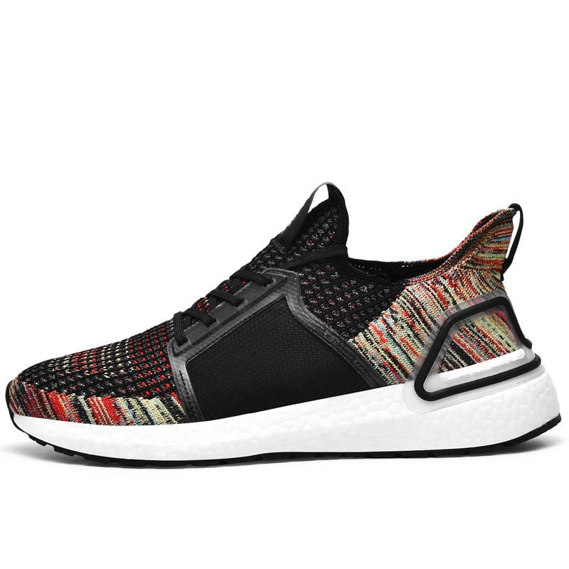 Ericdress Flyknit Patchwork Low-Cut Upper Round Toe Men's Sneakers