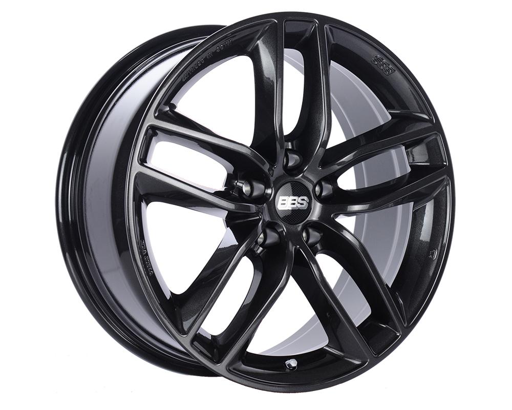 BBS SX Wheel 19x8.5 5x120 32mm Crystal Black Metallic