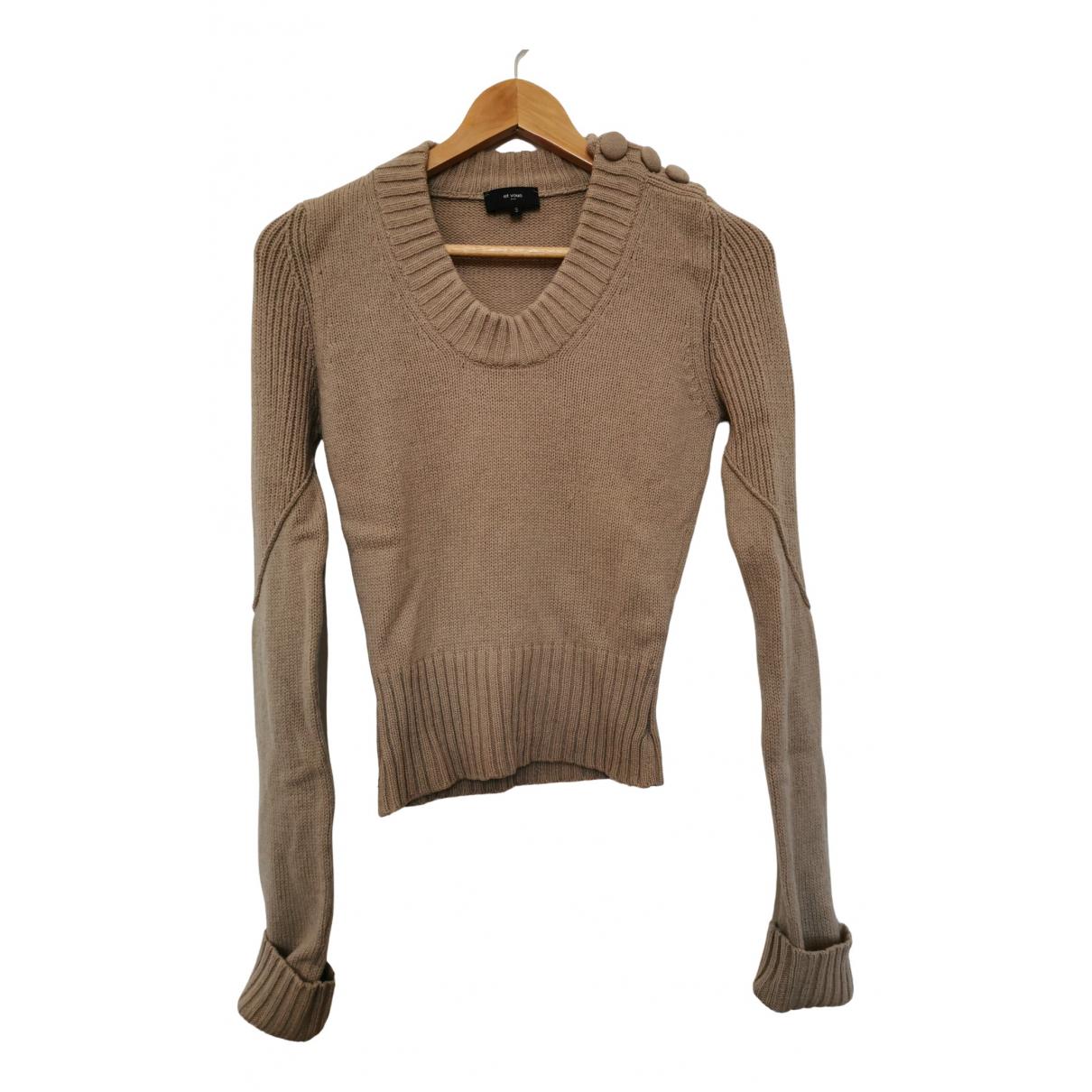Et Vous \N Pullover.Westen.Sweatshirts  in  Beige Wolle