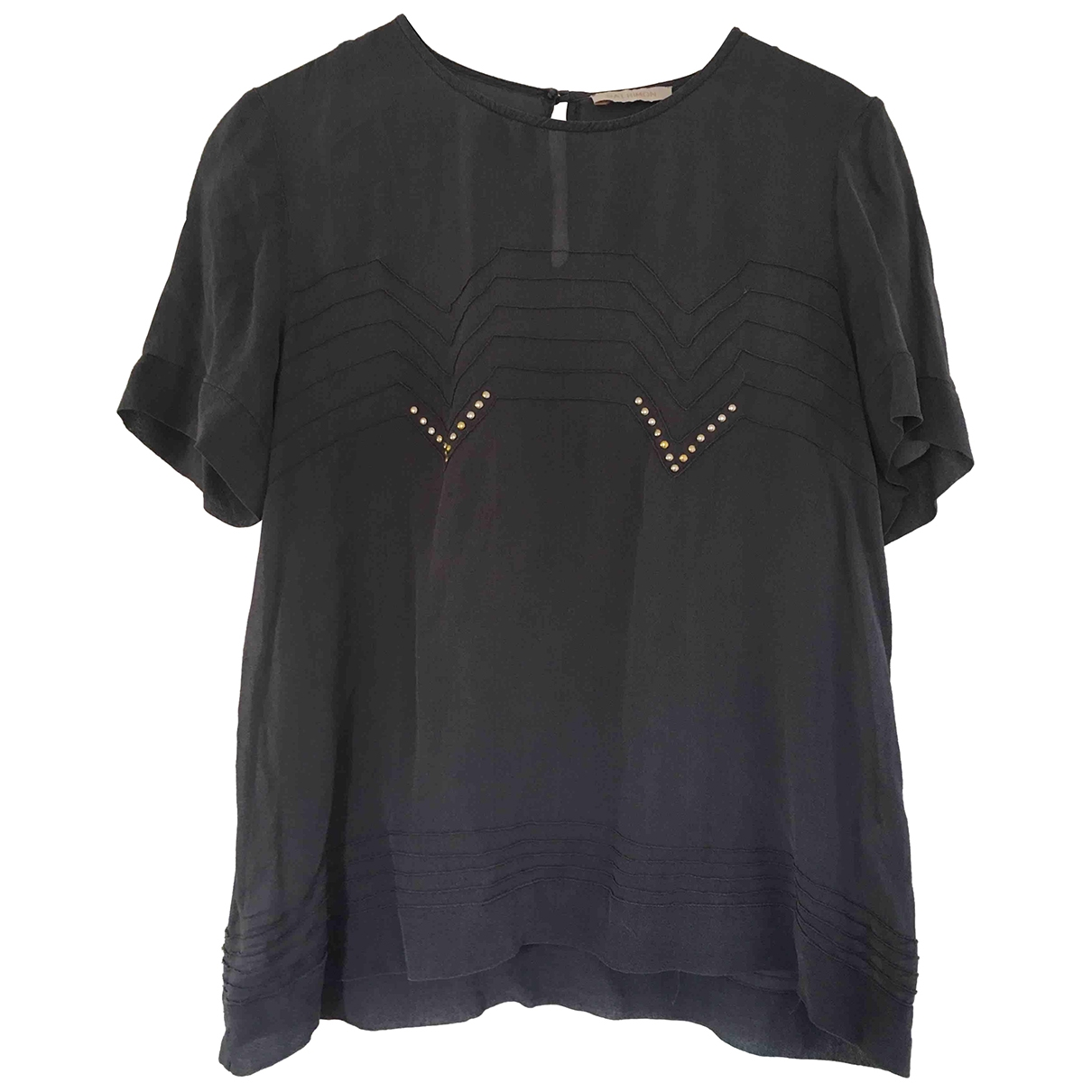 Camiseta de Seda Gat Rimon