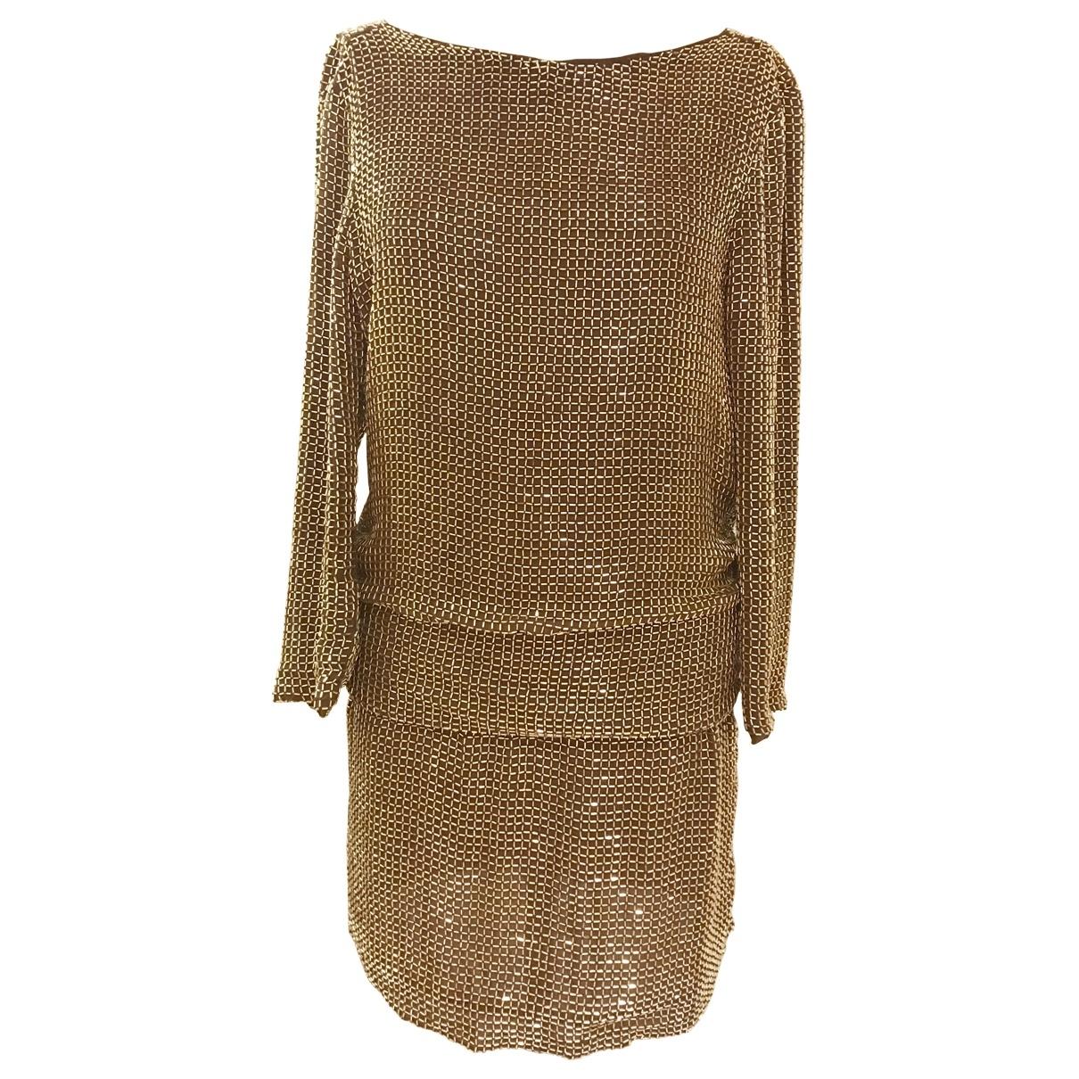 Tom Ford \N Gold Silk dress for Women 6 UK