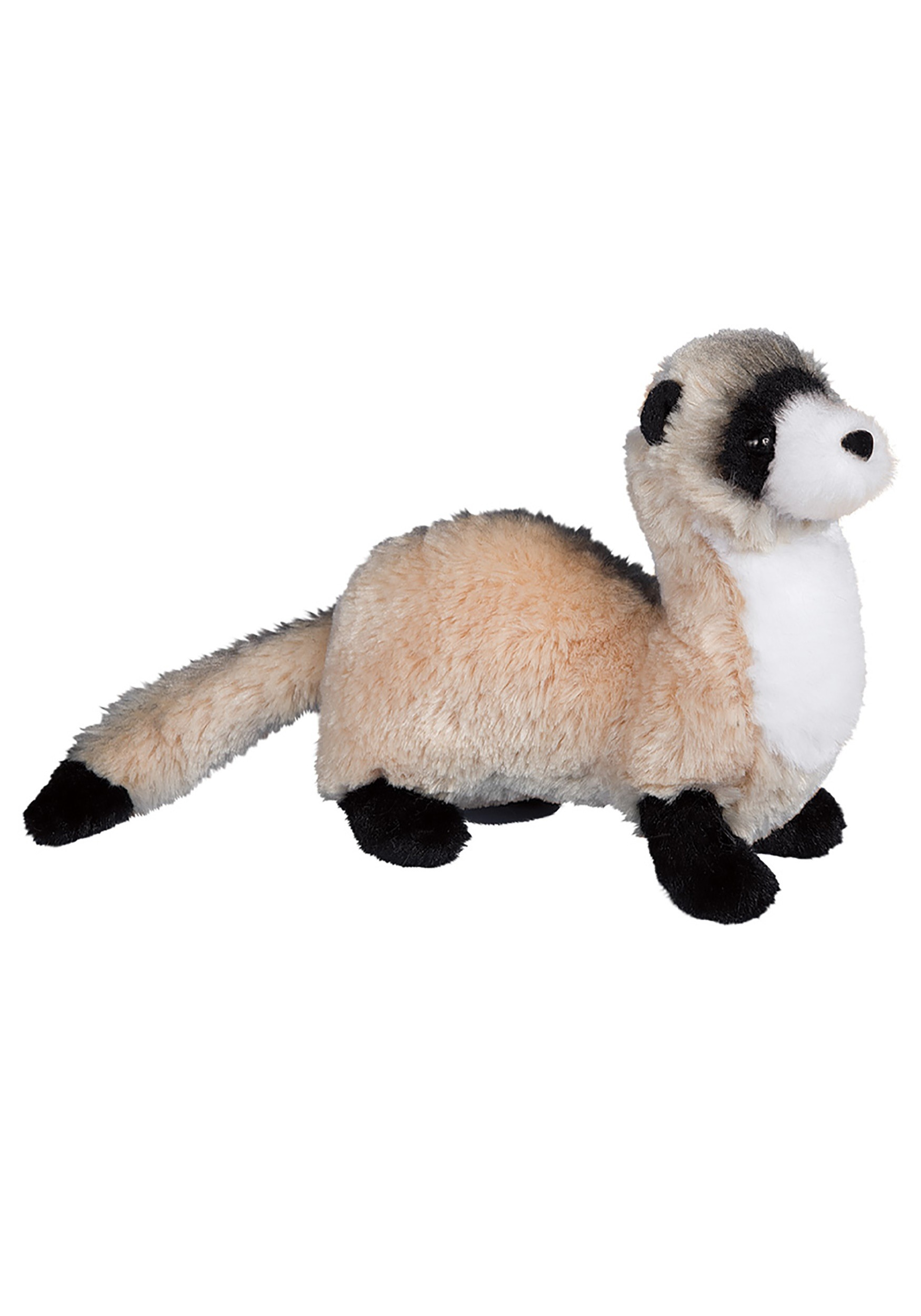 Vince the Black Footed Ferret 10 long Plush without tail