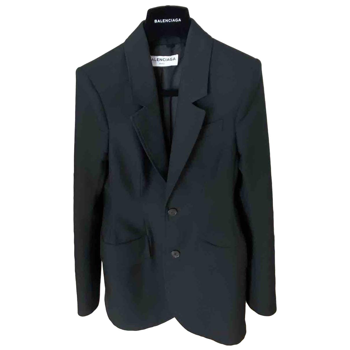 Balenciaga N Black jacket for Women 34 FR