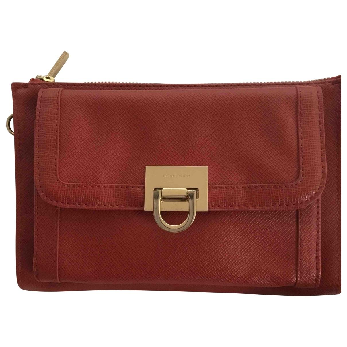 Ivanka Trump \N Handtasche in  Rot Polyester