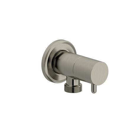 739BN Elbow Supply with Shut-Off Valve  in Brushed