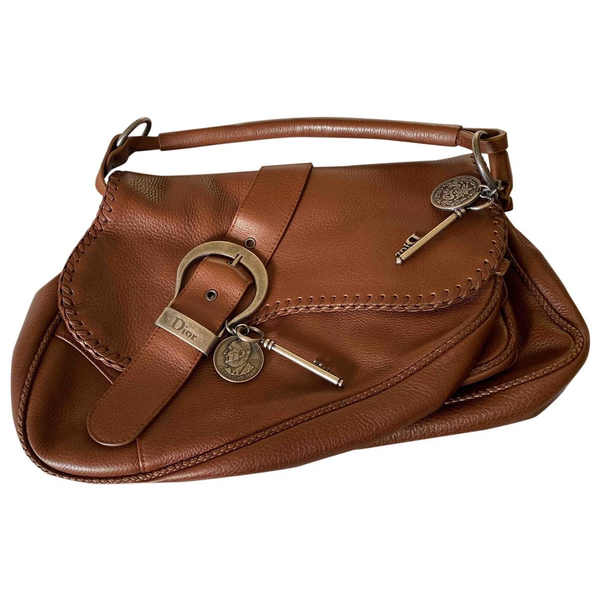 Dior Gaucho Camel Leather handbag for Women \N
