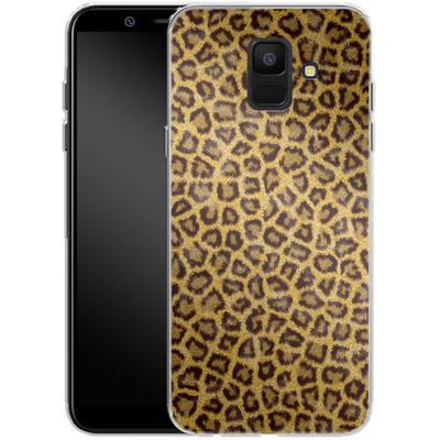 Samsung Galaxy A6 Silikon Handyhuelle - Leopard Skin von caseable Designs