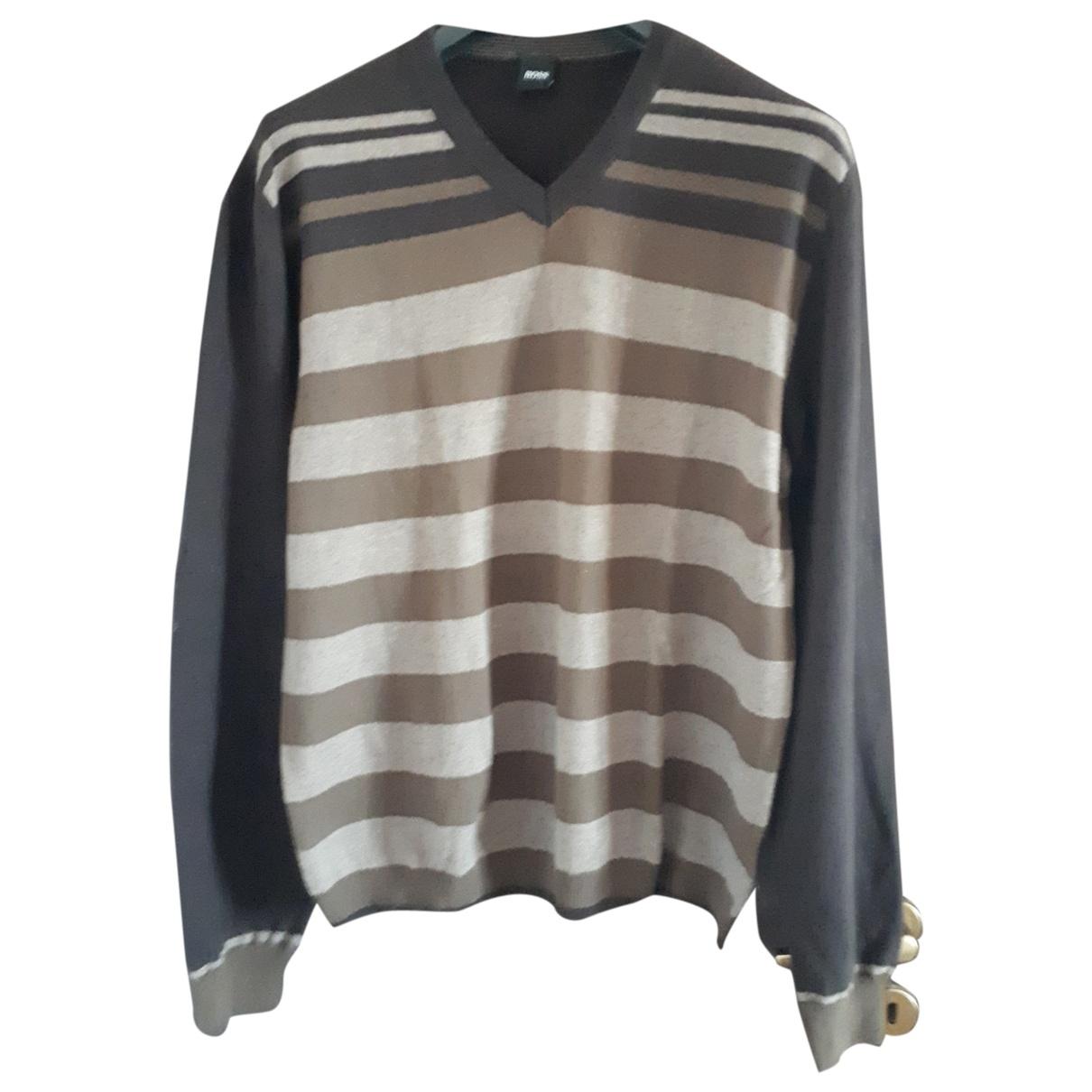 Boss - Pulls.Gilets.Sweats   pour homme en laine - multicolore