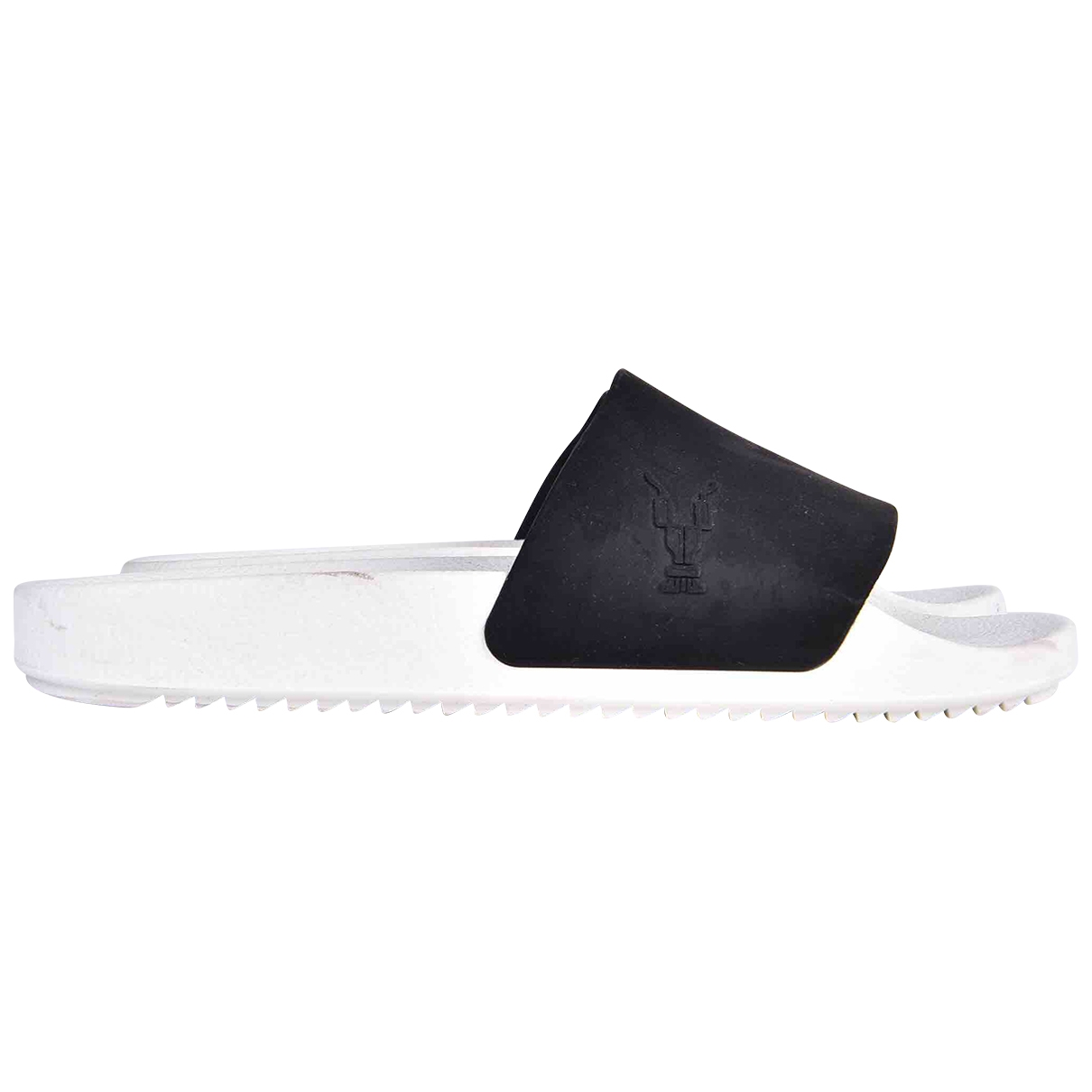 Rick Owens Drkshdw \N White Rubber Sandals for Men 40 EU