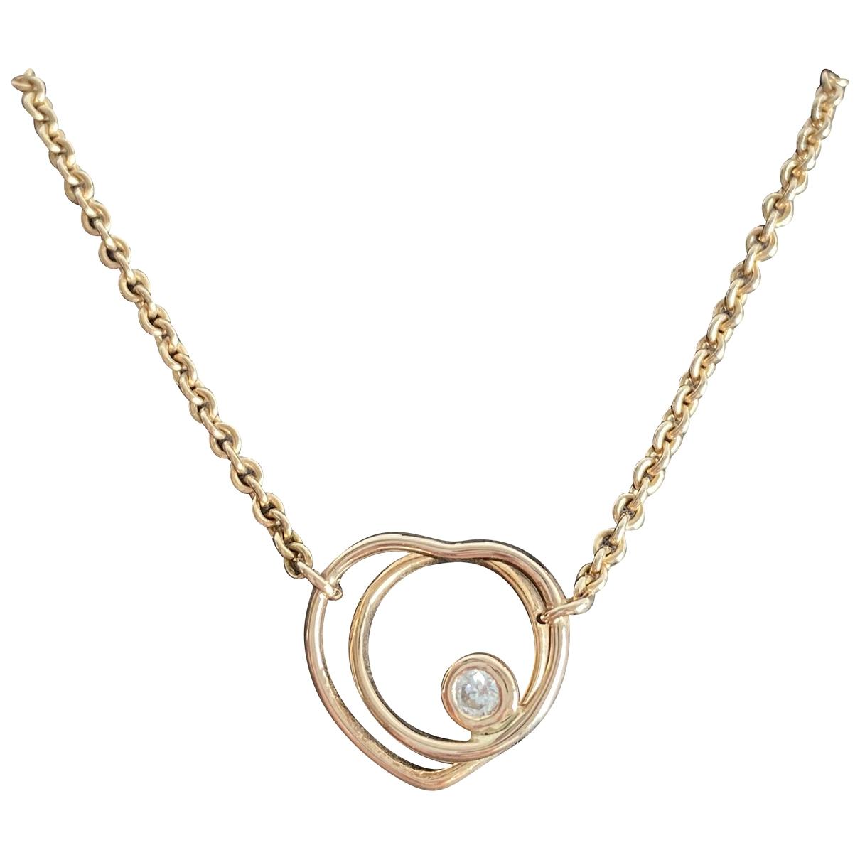 Collar Voltige de Oro rosa Hermes