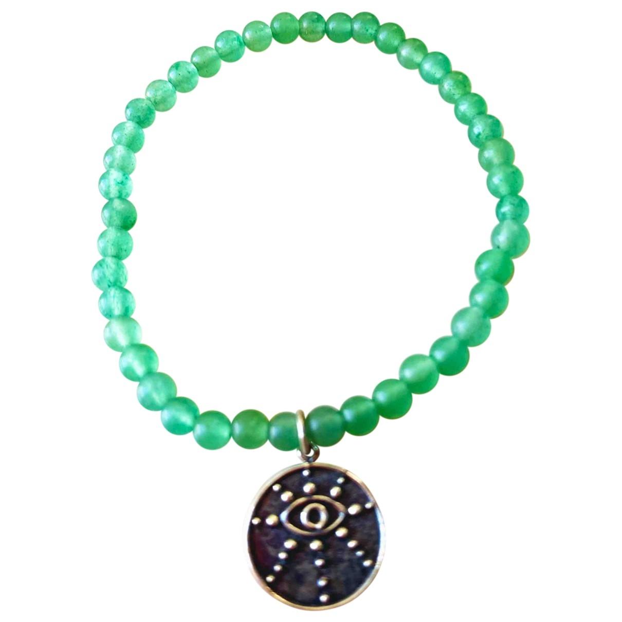 - Bracelet Motifs Ethniques pour femme en cristal - vert