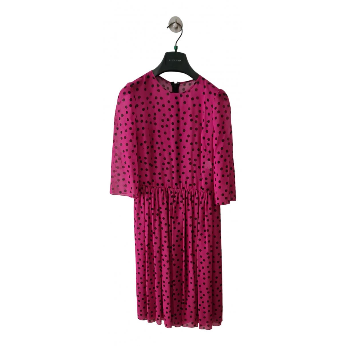 Dolce & Gabbana N Silk dress for Women 38 IT