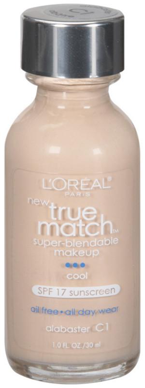 True Match Super-Blendable Foundation Makeup - Alabaster