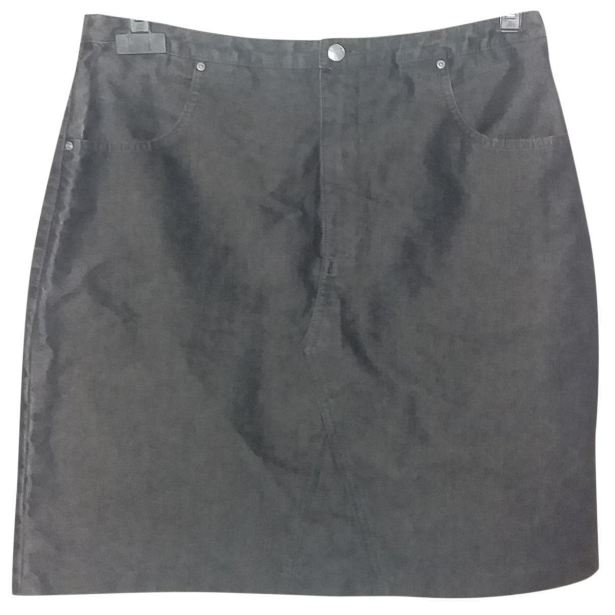 Esprit - Jupe   pour femme en coton - noir