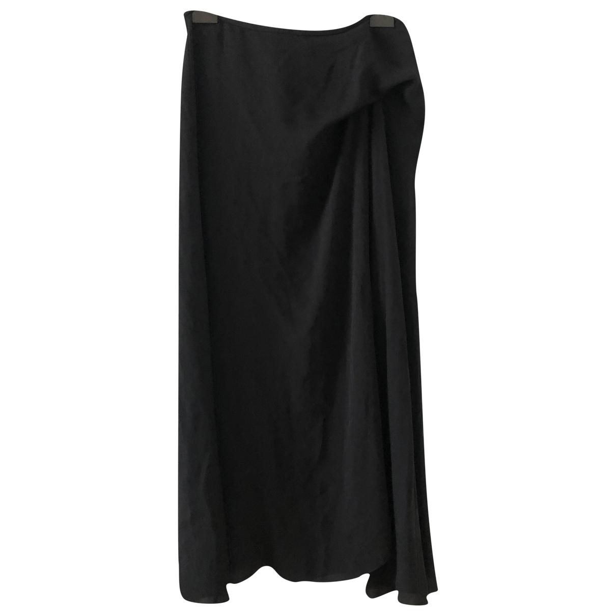 Theory - Jupe   pour femme en soie - noir