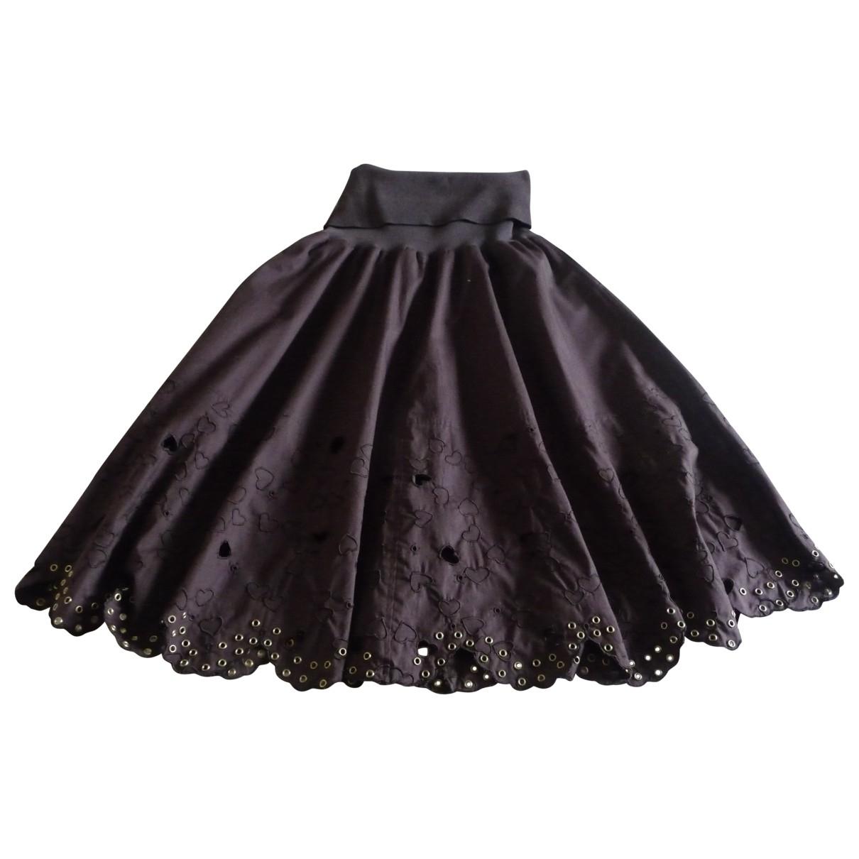 Sonia By Sonia Rykiel \N Brown Cotton skirt for Women 38 FR