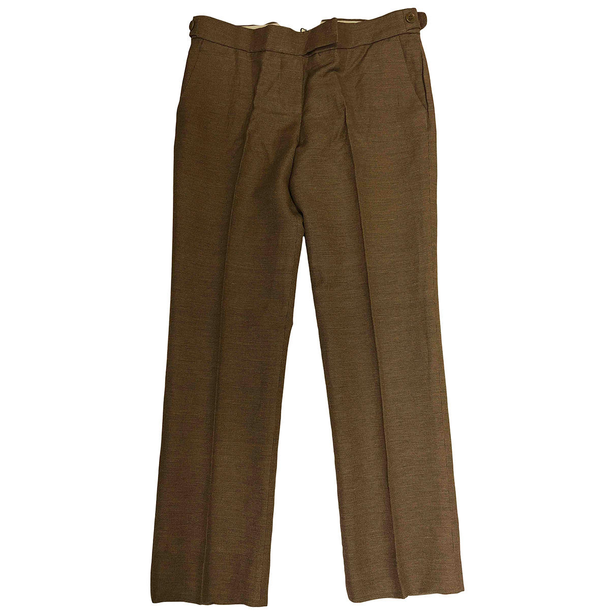 Chloé N Brown Trousers for Women 40 FR