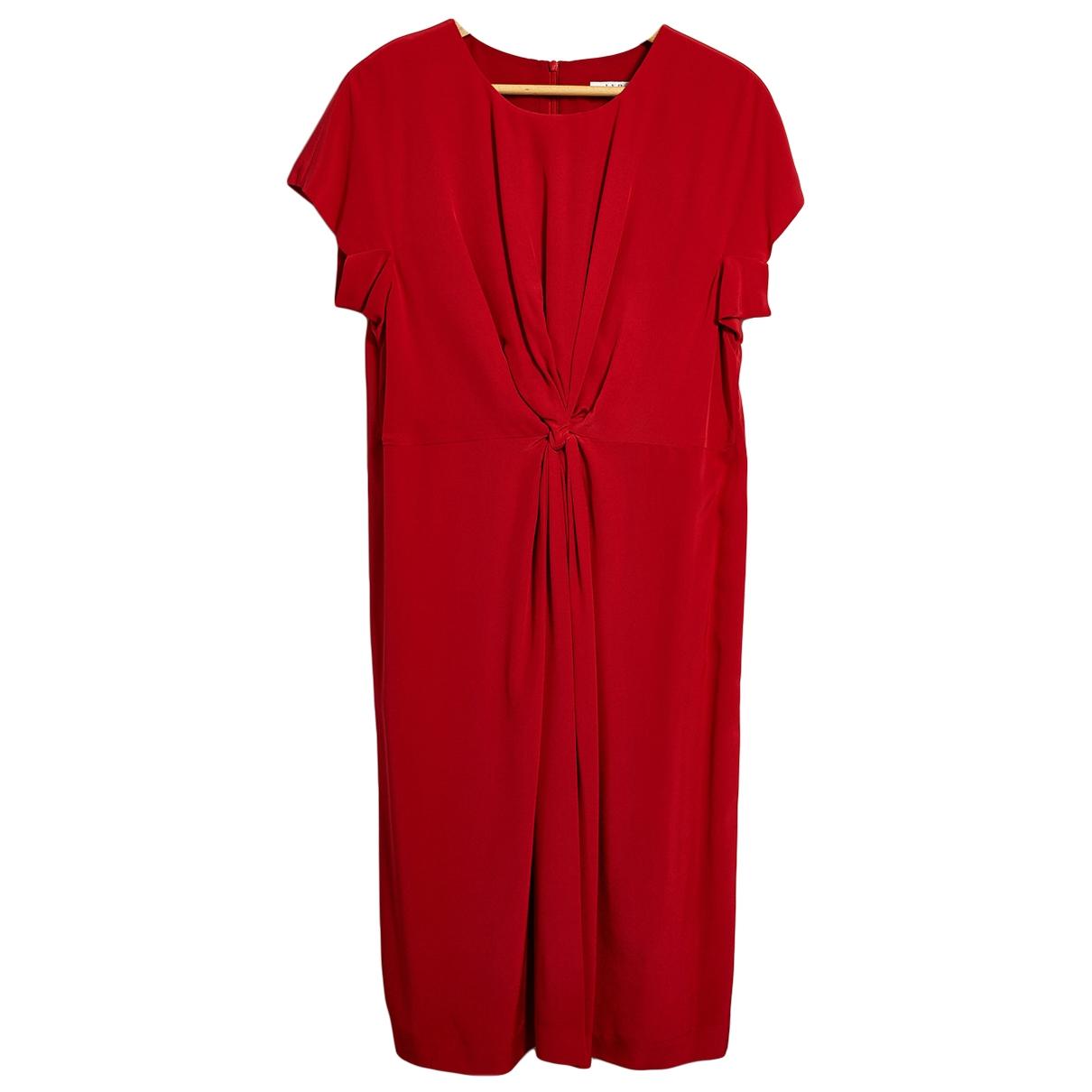 Lk Bennett \N Red Silk dress for Women 12 UK
