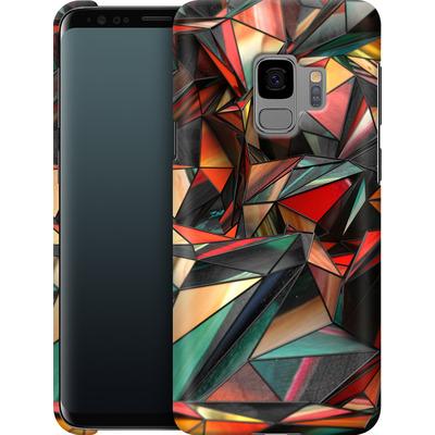 Samsung Galaxy S9 Smartphone Huelle - Dirty Triangles von Danny Ivan