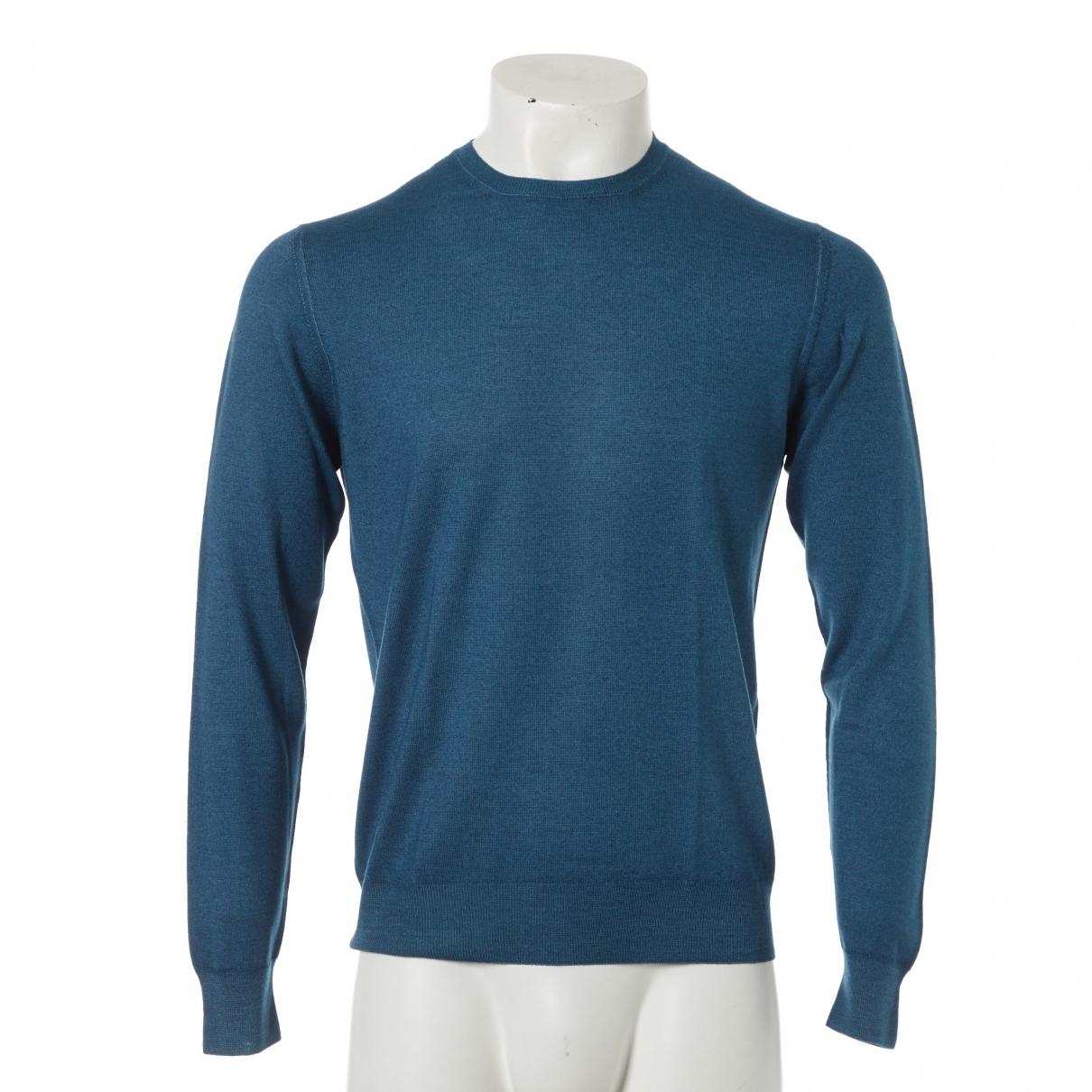 Prada \N Pullover.Westen.Sweatshirts  in  Tuerkis Wolle