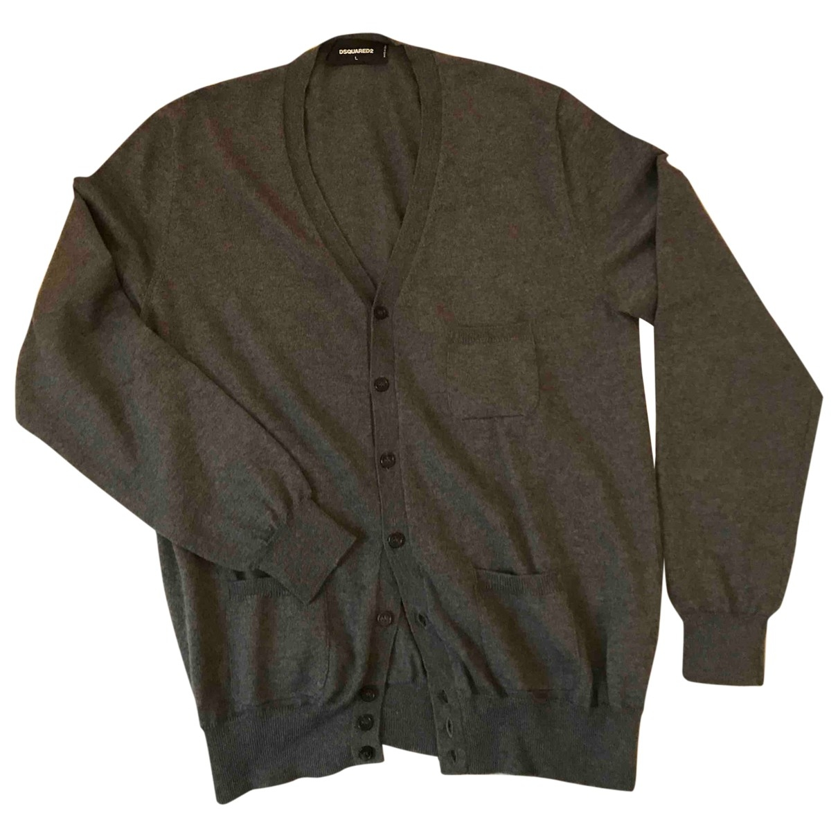 Dsquared2 \N Anthracite Wool Knitwear & Sweatshirts for Men L International