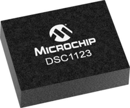 Microchip 156.25MHz MEMS Oscillator, 6-Pin VDFN, DSC1123CI2-156.2500 (110)