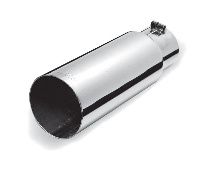 Gibson Performance 500373 Stainless Single Wall Straight Exhaust Tip