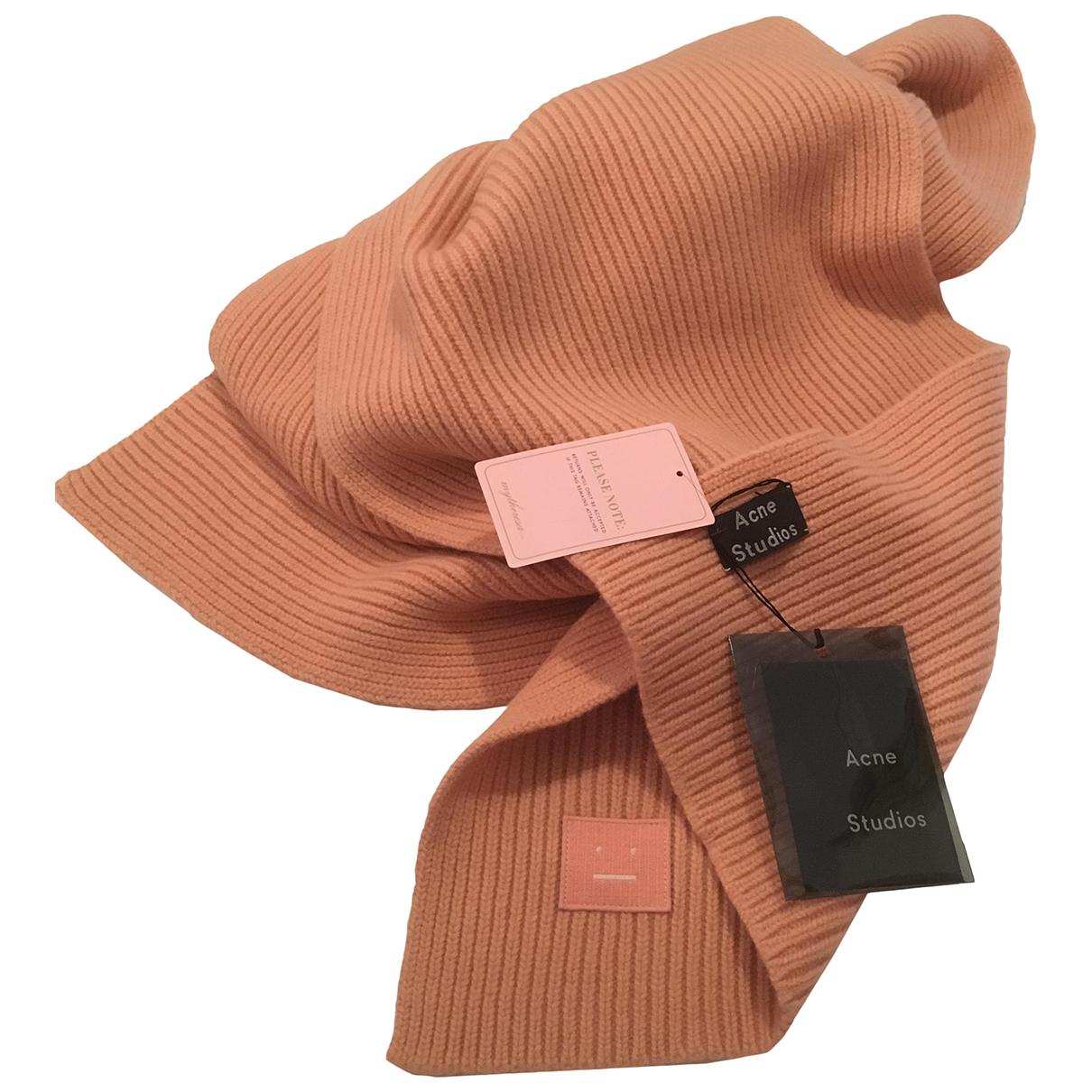 Acne Studios N Pink Wool scarf for Women N